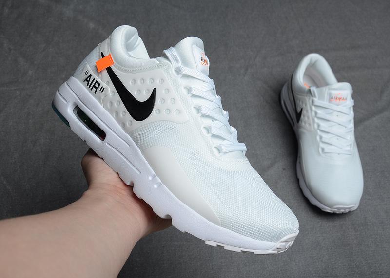 Nike Air Max Zero White Black | SneakerFiles