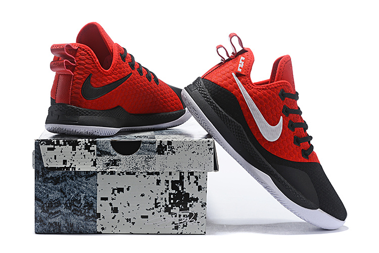 9308316e4bf Nike Lebron Witness 3 Black Red White Men s Basketball Shoes NIKE ...