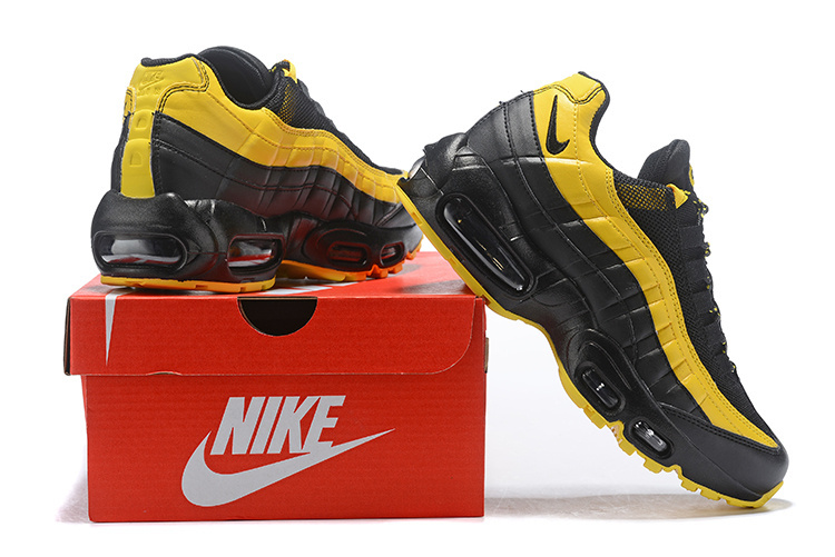 free shipping a5b67 24dd7 Nike Air Max 95 Frequency Pack Tour Yellow White Black AV7939-001 Women s  Casual Shoes AV7939-001   WithTheSale.com