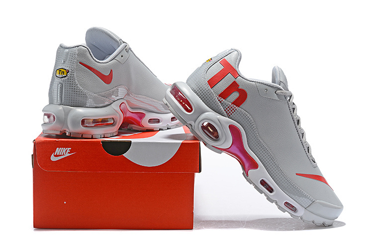 f875369d015 Nike Air Max Plus Mercurial TN Wolf Gey Pink Men s Running Shoes NIKE-ST004243