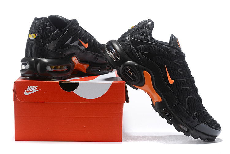 size 40 3f627 228db Nike Air Max Plus TN SE Black/Orange AO9564-001 Men's Running Shoes  AO9564-001