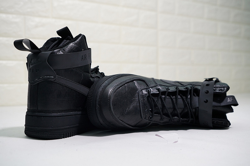 sale retailer 7d661 a70eb Magic Stick x Nike Air Force 1 High VIP Triple Black Men s Casual Shoes  Sneakers