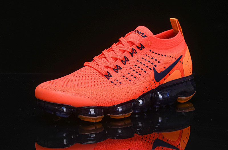 7ff872758d2f8 Nike Air VaporMax Flyknit 2 Team Red Obsidian 942842 106 Women's Men's  Running Shoes