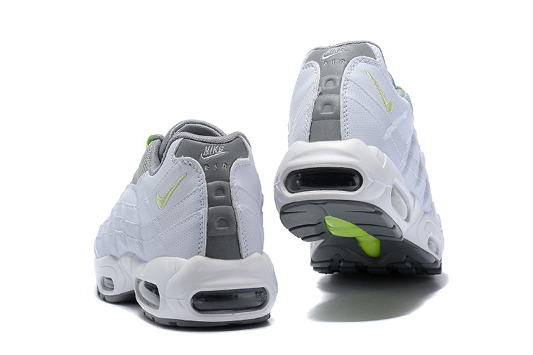 buy popular baa1d ee2c3 Nike Air Max 95 SE Neon White Grey AQ4141 100 Men s Casual Shoes