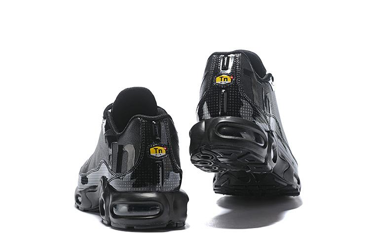 info for ff4b9 4d350 Nike Air Max Plus Mercurial TN Triple Black Men's Running Shoes  NIKE-ST004239