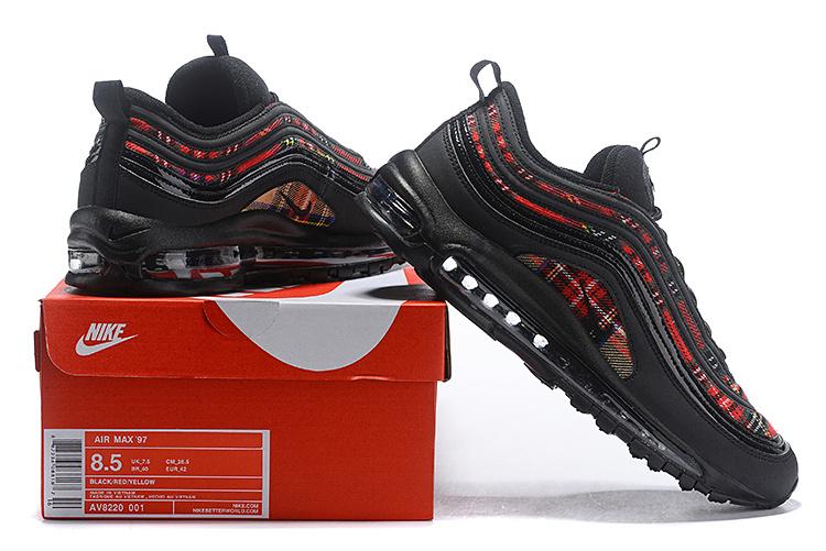 Nike Air Max 95 97 KPU Superme White Black Mens Running Shoes Sneakers