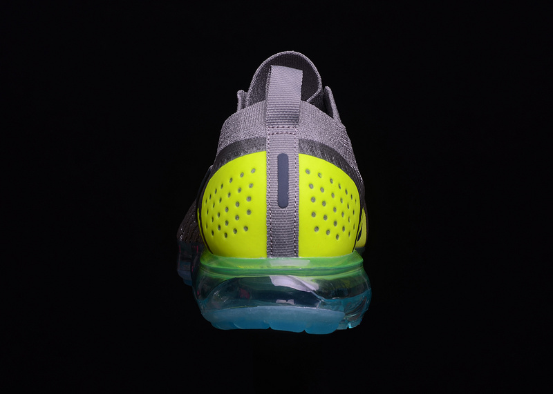 competitive price c02ac c68ff Nike VaporMax Flyknit 2. 0 Moc Mica Green Volt Neo Turquoise AH7006 201  Women's Men's Running Shoes AH7006-201