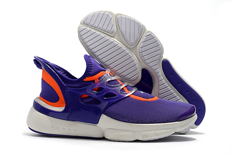 on sale 2fd3f 40170 Nike Presto Faze Hypergate GS Lavender Orange White AO9127 581 Women's  Running Shoes AO9127-581