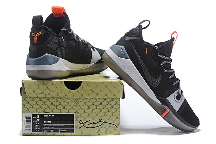 96bbcd4c2c22 Nike Kobe AD Shoe Black Grey AV3555-001 Men s Basketball Shoes ...