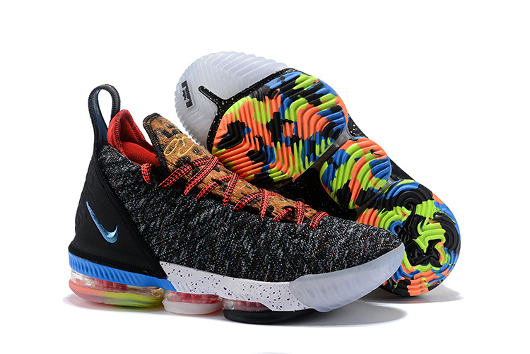 34822fe7e83 Zero Defect NIKE LEBRON 16 1 THRU 5 Multi-Color Multi-Color BQ6580 ...