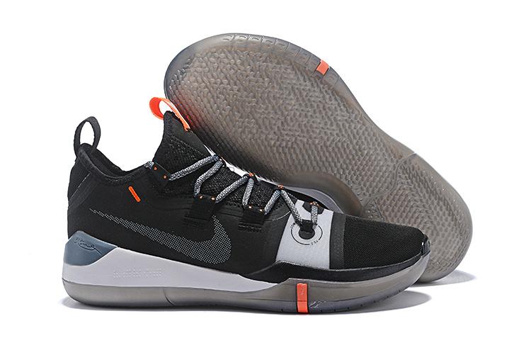 buy online 55339 ac471 Nike Kobe AD Shoe Black Grey AV3555-001 Men's Basketball Shoes AV3555-001