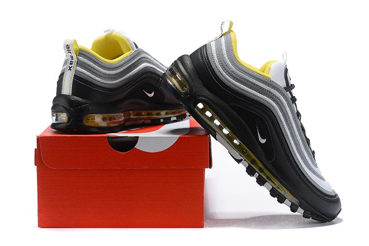 7778c0d64c7 Nike Air Max 97 Black White Amarillo 921522 005 Men s Casual Shoes ...