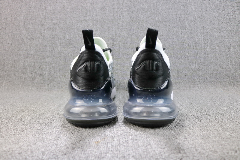 Nike Air Max 270 Flyknit White Black AO1023 993 Men's Casual Shoes AO1023 993