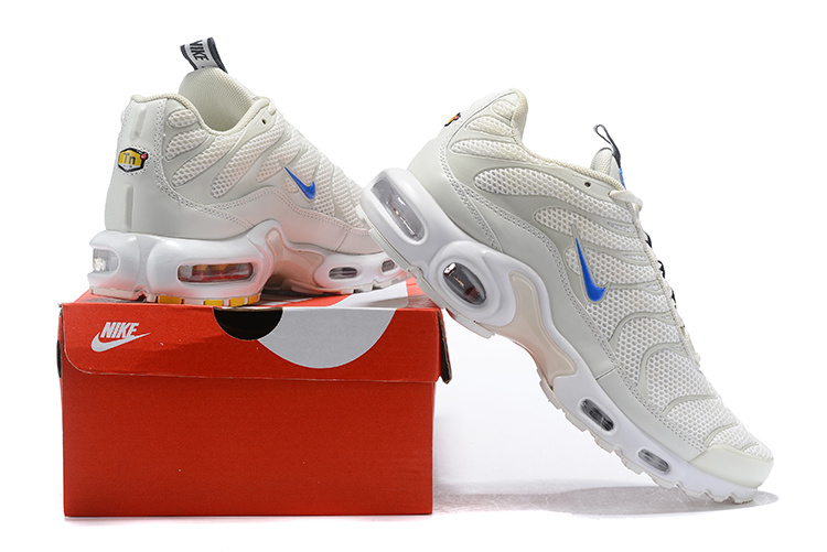 finest selection a6af0 08b95 Nike Air Max Plus TN SE Sail/White/Chamois/Racer Blue AR4251-100 Men's  Running Shoes AR4251-100