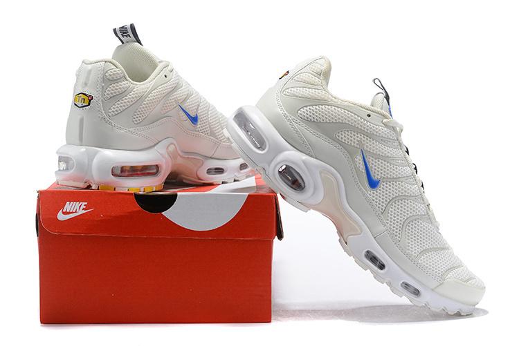finest selection 4fa55 2183c Nike Air Max Plus TN SE Sail/White/Chamois/Racer Blue AR4251-100 Men's  Running Shoes AR4251-100