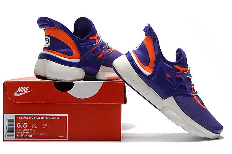 huge selection of 41905 63baa Nike Presto Faze Hypergate GS Lavender Orange ...