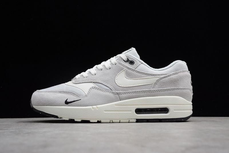 Sneakers 875844 Nike Casual Black Premiun Men's Shoes 1 Platinum Max White Pure Sail Air 006 D9H2EI
