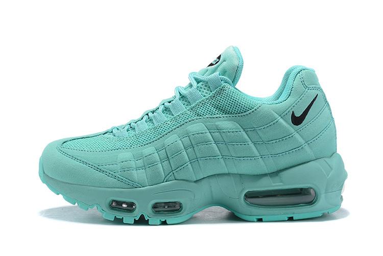 hot sales 94af0 d55d3 Nike Air Max 95 Ocean Blue Black Women's Casual Shoes NIKE-ST004081
