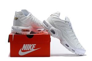 Mens Off White Nike Air Max TN White Black Total Orange