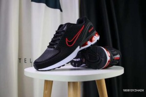 47cbefe72d3 Nike Air VaporMax Flyknit 5K Kpu Black Red White Men s Running Shoes