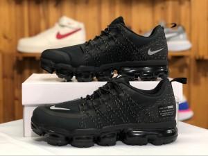 9a21ca9651e7 Nike Air VaporMax Run Utility Black Anthracite AQ8810-001 Men s Running  Shoes