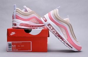 sports shoes a23f6 55990 Nike Air Max 97 Premium Particle Beige  Summit White 312834 200 Womens  Casual Shoes