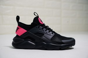 online retailer 4d737 55a53 Nike Air Huarache Run Ultra 4 Black   Hyper Pink 847568-003 Men s Women s  Casual