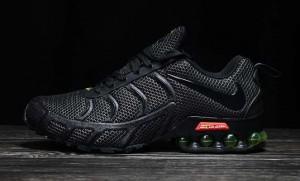 632e833b0ea Nike Air Shox KPU 2019 Black Green Men s Running Shoes