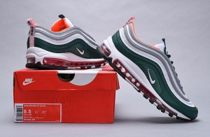 Nike Air Max 97 Plus TN Red White Men's Running Shoes NIKE