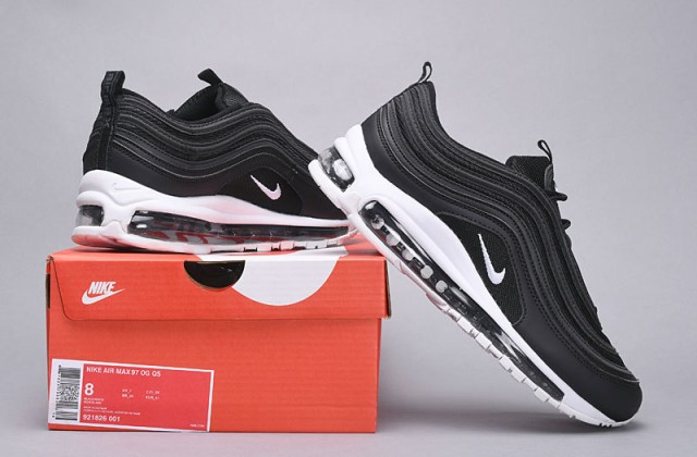 Nike Air Max 97 Black White Nocturnal Animal 921826 001 Women's Men's Casual Shoes NIKE ST004750