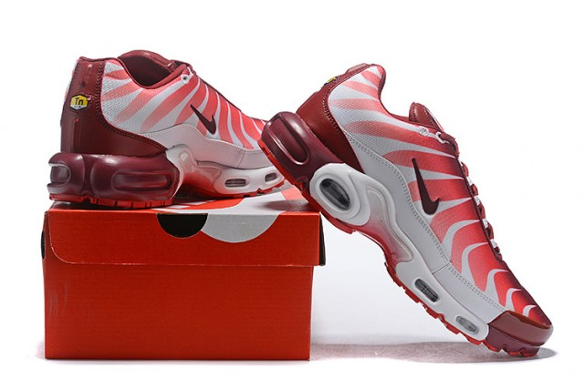 2ed710bce1fb Mens Nike Air Max Plus TN White Team Red Speed Red