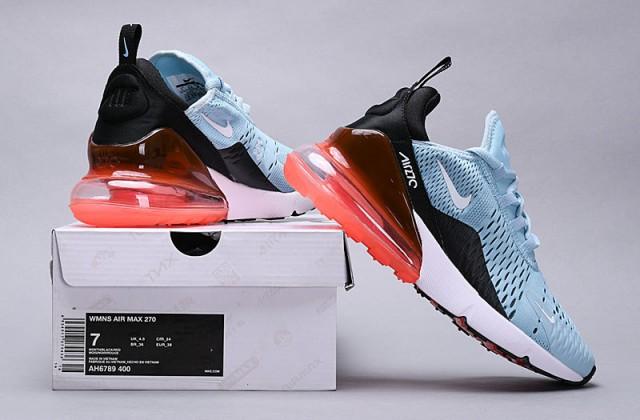 b83c1dae0f93c Nike Air Max 270 Ocean Bliss ocean bliss white-black AH6789 400 Women s  Casual Shoes AH6789-400A