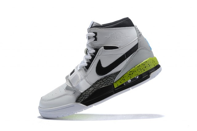 quality design ab700 47c45 Air Jordan Legacy 312 White Volt Vivid Blue Black AQ4160-107 Men s