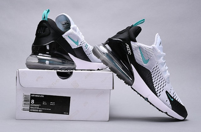 100% authentic 00e6d 476b3 Nike Air Max 270 Dusty Cactus black/white-dusty cactus AH8050-001 Women's  Men's Casual Shoes AH8050-001E