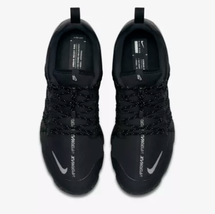 da191434510 Nike Air VaporMax Run Utility Black Black Black Reflect Silver AQ8810-003