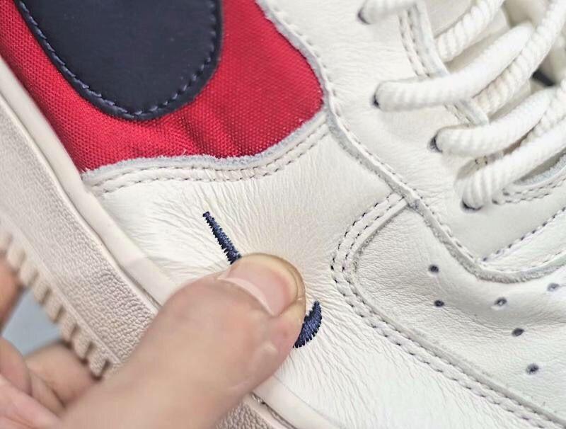 628f2ec6bba4 Nike Air Force 1 Nautical Redux Pack Navy   Red   White AR5395-100 Women s