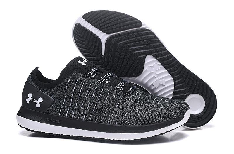 2264964f Under Armour Slingride 2 Black White 3020326 004 Men's Trail Running Shoes  3020326-004