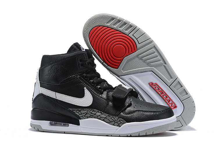 cbbcc68af7c4 Air Jordan Legacy 312 Black White - AV3922 001 Men s Basketball Shoes