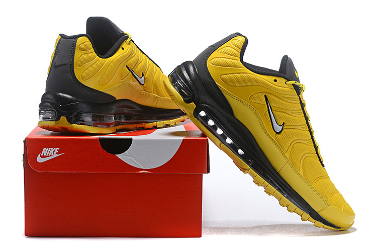 info for 6ea7f 4c8f1 Men's Nike Air Max 97 Ultra SE Yellow Black White Casual Shoes Sneakers  NIKE-ST004684