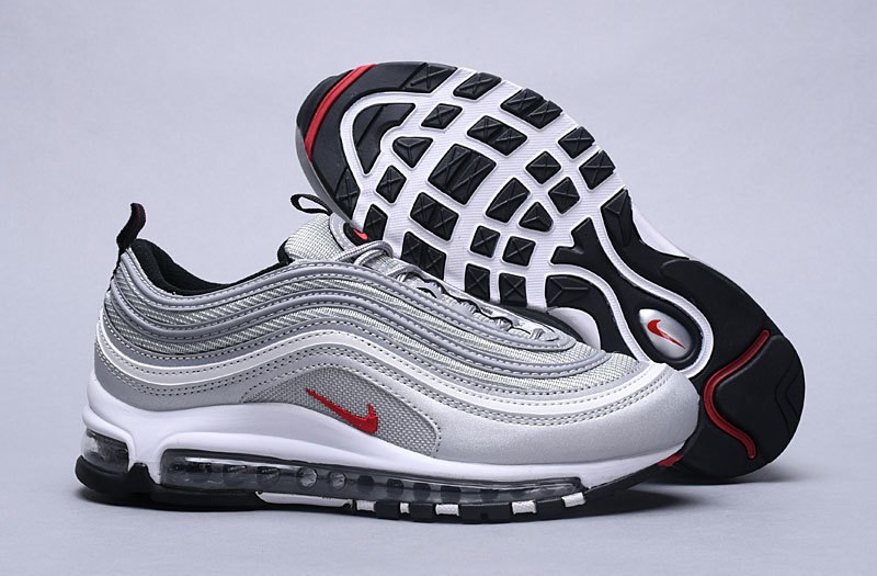 19871f8f1a Nike Air Max 97 Og Qs Silver Bullet Metallic Silver 884421 001 Black Friday  Women's Men's