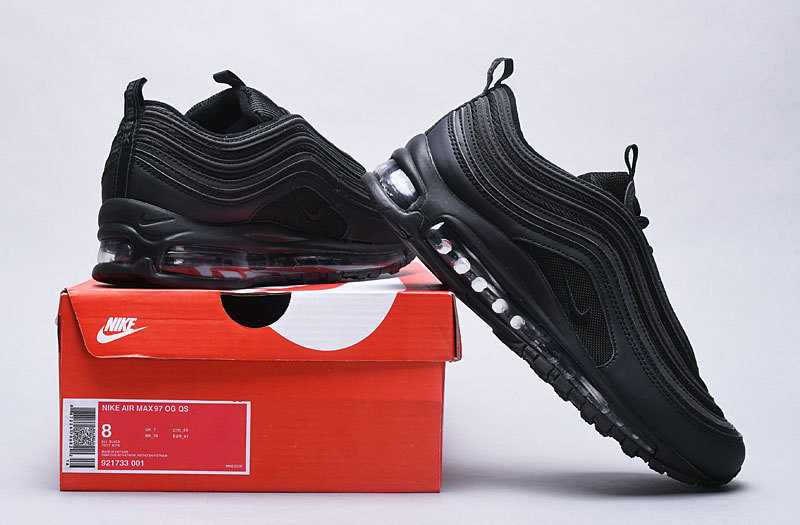 in stock cheap price price reduced Nike Air Max 97 Triple Black 921733 001 Women's Men's Casual Shoes  NIKE-ST004757