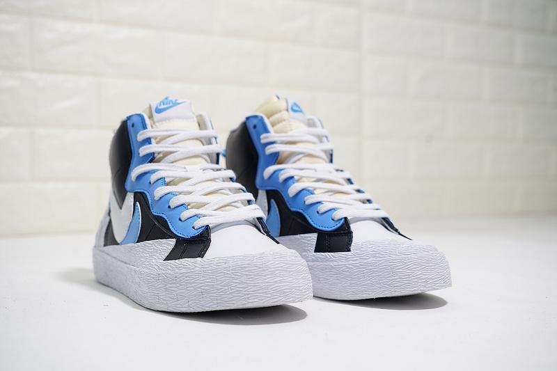 c2c363fd727 SACAI x Nike Blazer Black Blue White AA3823-100 Men s Basketball Shoes  Sneakers