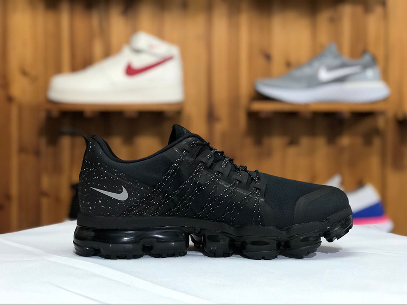 best website 619d0 11acb Nike Air VaporMax Run Utility Black Anthracite AQ8810-001 Men's Running  Shoes AQ8810-001