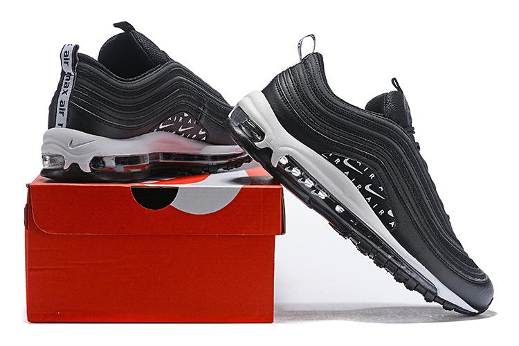 best service cb138 f3709 Nike Air Max 97 Swoosh Air Logos Black/White AR7621-001 Men's Casual Shoes  AR7621-001