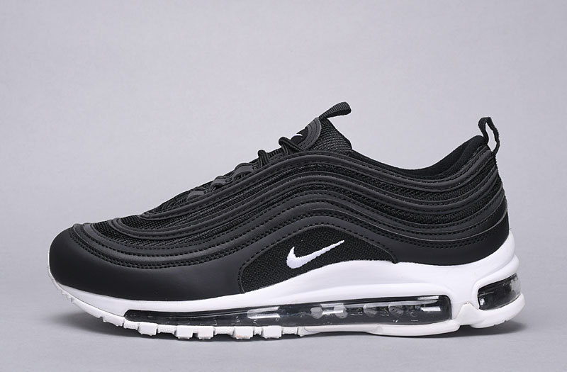 2dd541ca87 Nike Air Max 97 Black White Nocturnal Animal 921826 001 Women's Men's  Casual Shoes