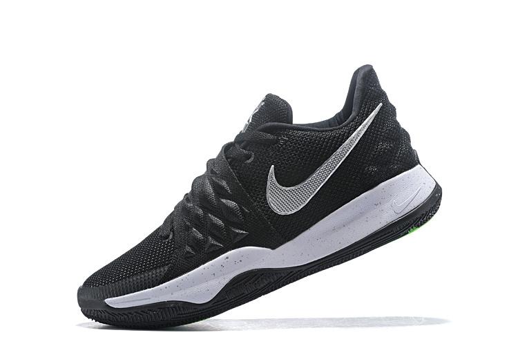 c296c2767ea8c5 Nike Kyrie 4 Low Black Metallic Silver AO8979-003 Men's Basketball Shoes