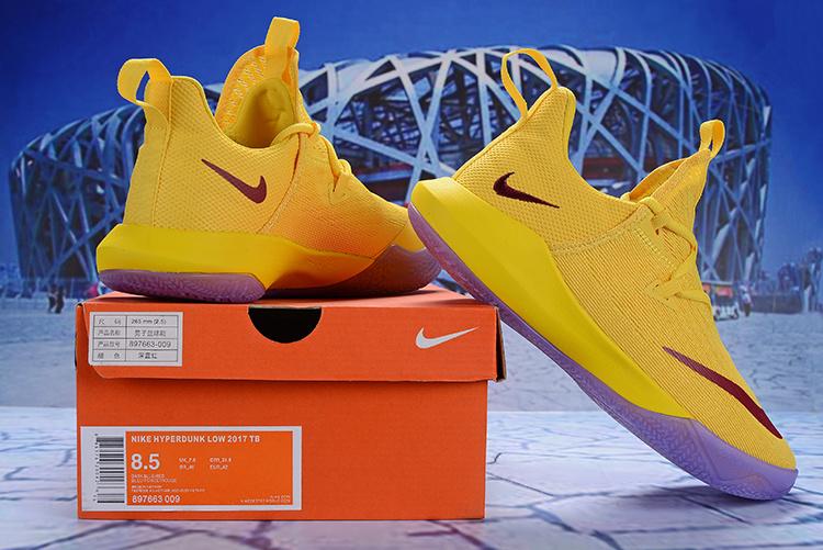 47802a3a1fec Nike Zoom Shift 2 EP II University Gold Red Men s Basketball Shoes ...