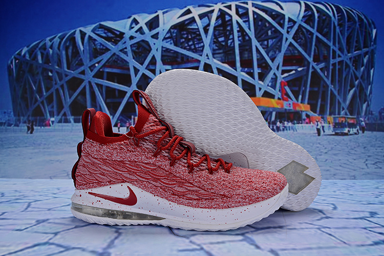 eff117ee5de Nike LeBron 15 Low Team Red AO1755-200 James Men s Basketball Shoes  AO1755-200a