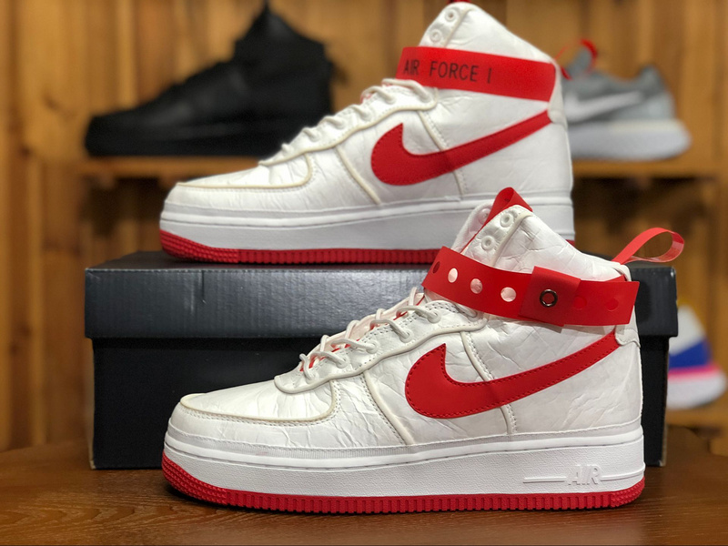 the latest fce80 06f89 Magic Stick x Nike Air Force AF1 White/Red 573967 100 Men's Sneakers  573967-100A