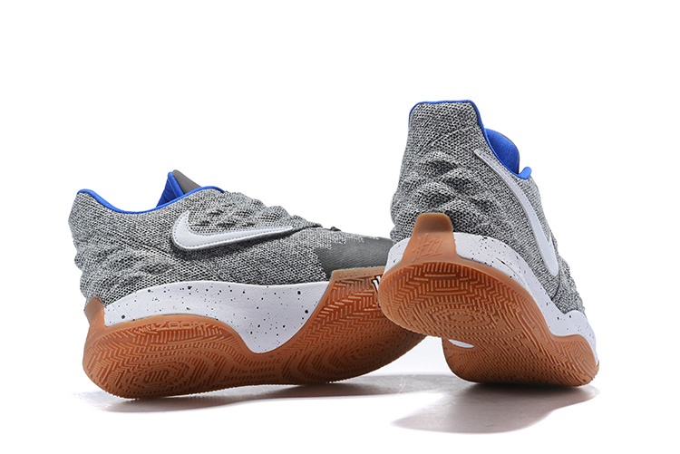 timeless design dd41b b1ce0 Nike Kyrie 4 Low 'Uncle Drew' Atmosphere Grey/White AO8979-005 Men's  Basketball Shoes AO8979-005